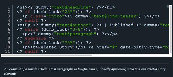 Biblioteca PHP para realizar pruebas a nuestros diseños