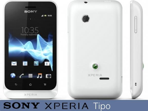 Sony Xperia Tipo - smartphone con Android 4.0